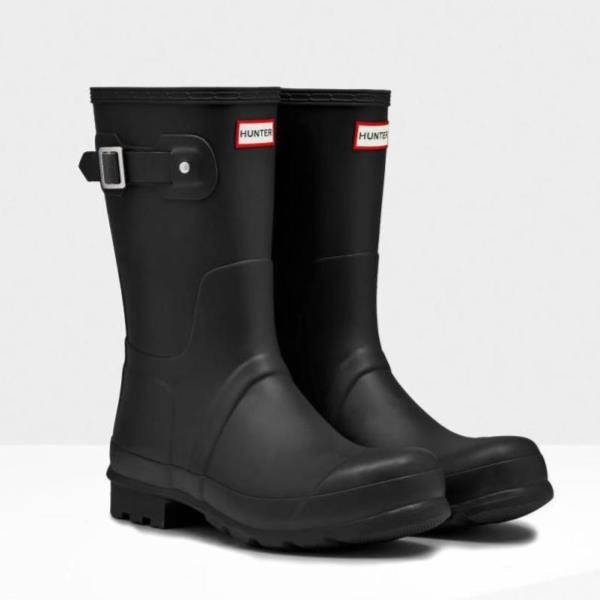 長靴 ブーツ レインブーツ レインシューズ ショートブーツ 防水 雨具 ハンター メンズ MFS9000RMA-BLK MENS ORIGINAL SHORT BLACK ( HUN10673569 ) 【 ハンター 】【QCA04】