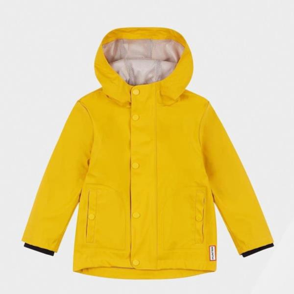 KIDS ORI LW RUBBERISED JACKET YELLOW (HUN10673743) 【 ハンター 】