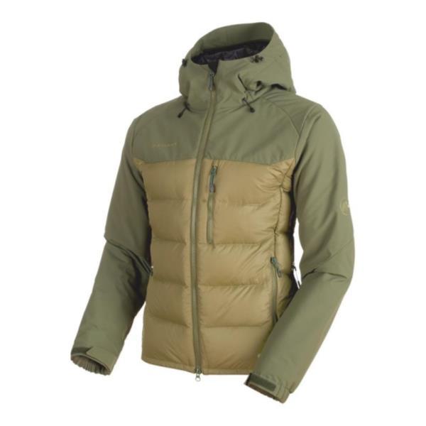 1013-00640-40064-L Rime Pro IN Hybrid Hooded Jacket Men clover-dark clover L (MAT10677079) 【 MAMMUT 】