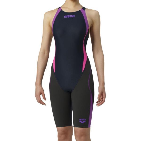 セイフリーバックスパッツ アクアハイブリッド レディース 競泳用水着 (ARN10687601) 【アリーナ 】【QCA04】