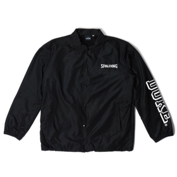 ジャケット バスケ ジャケット メンズ スポルディング ジャケット コーチジャケット DUKE BLACK/1000【SP】