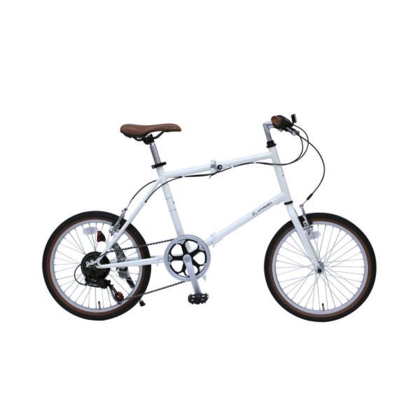 自転車 折りたたみ自転車 自転車 折りたたみ MG-CTN206G CITROEN MINIVELO206SG ホワイト【MMG】【QCA04】