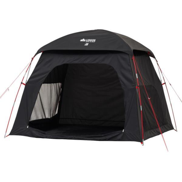 テント ロゴス テント 大型 テント ファミリー #71809032 BLACK UVスクリーンシェードM-AI【HN】