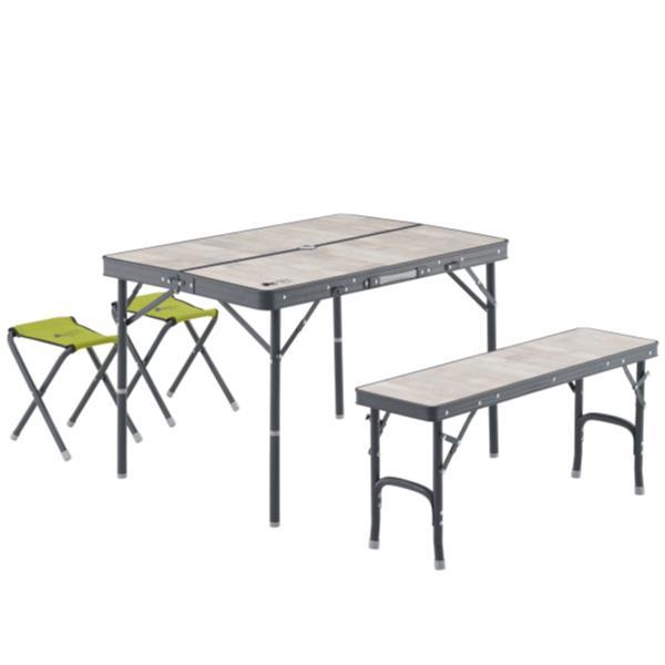 バーベキューテーブル 机 椅子 セット 机 おしゃれ #73189057 ROSY ファミリーベンチテーブルセット【HN】