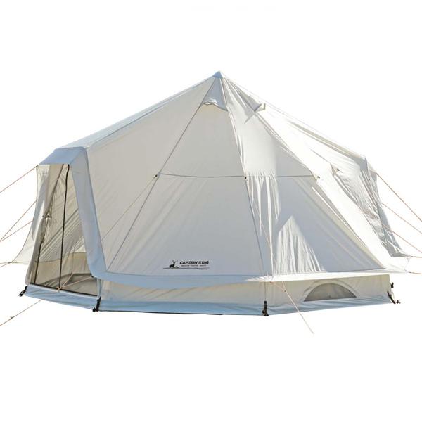 テント テント 大型 ファミリーテント UA-0047 CSクラシックス ワンポールテント DXオクタゴン460UV【CAG】【QBJ38】