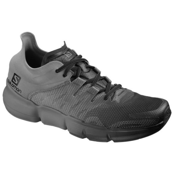 ランニングシューズ メンズ スニーカー メンズ 靴 メンズ PREDICT RA BLACK/QUIET SHADE/EBONY【SAM】