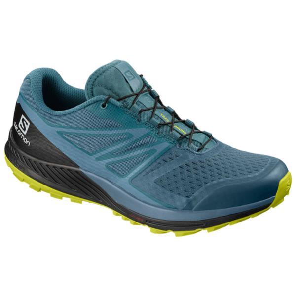 ランニングシューズ メンズ スニーカー メンズ 靴 メンズ SENSE ESCAPE 2 MALLARD BLUE/BLUESTONE/SULPHUR SPRING【SAM】