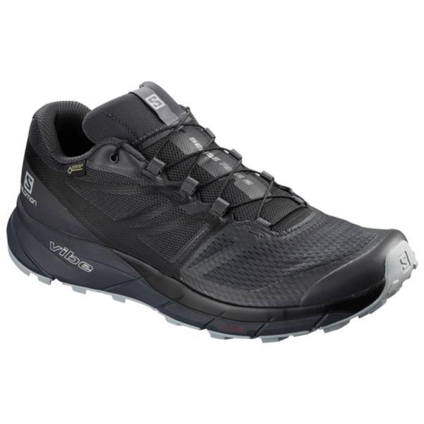 ランニングシューズ メンズ スニーカー メンズ 靴 メンズ SENSE RIDE 2 GORE-TEX INVISIBLE FIT EBONY/BLACK/QUARRY【SAM】
