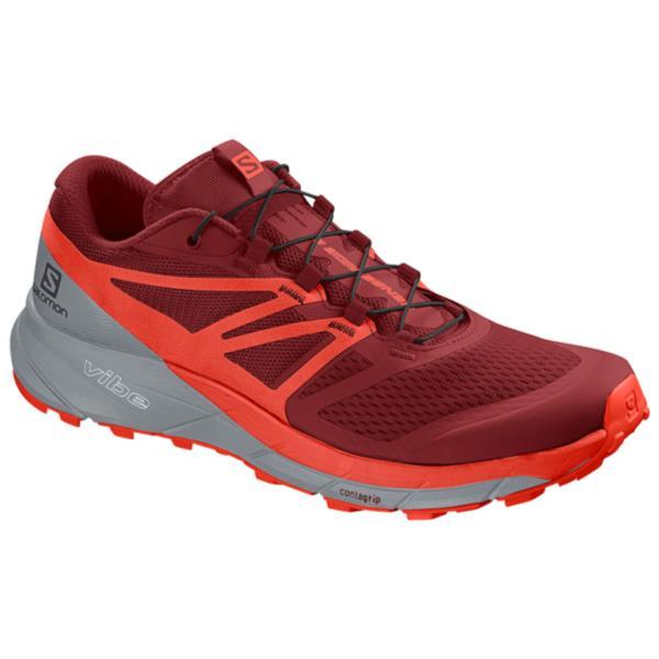 ランニングシューズ メンズ スニーカー メンズ 靴 メンズ SENSE RIDE 2 RED DAHLIA/CHERRY TOMATO/QUARRY【SAM】