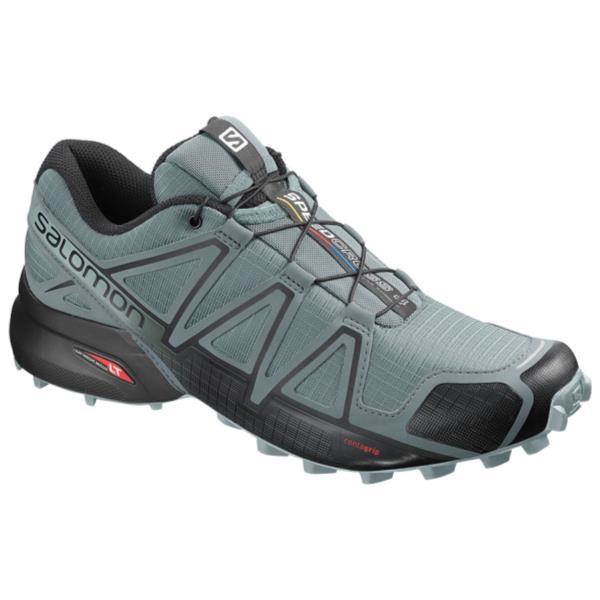 ランニングシューズ メンズ スニーカー メンズ 靴 メンズ SPEEDCROSS 4 STORMY WEATHER/BLACK/STORMY WEATHER【SAM】