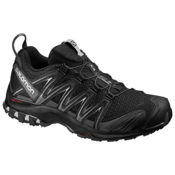 ランニングシューズ メンズ スニーカー メンズ 靴 メンズ XA PRO 3D WIDE BLACK/MAGNET/QUIET SHADE【SAM】