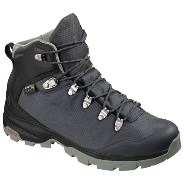 トレッキングシューズ レディース ブーツ レディース 登山靴 レディース OUTback 500 GORE-TEX W EBONY/BLACK/SHADOW【SAM】【QBJ38】