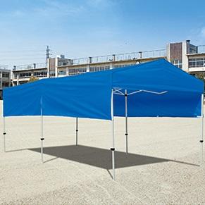 テント 大型 テント ワンタッチ テント イベント ワンタッチテントHW2754 G1768W 特殊送料【ランク:38】 【TOL】 【QCA04】