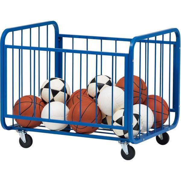 ボール 収納 ボール かご ボール カゴ カゴ キャリー B-2755 ボールカゴSKA80100B2755 特殊送料:ランク【11】【TOL】