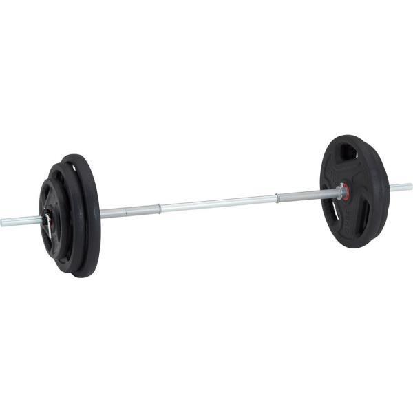 バーベル セット バーベル 60kg 筋トレ TPUバーベル28 60kgセット D5035 特殊送料【ランク:L】 【DAN】 【QCA04】