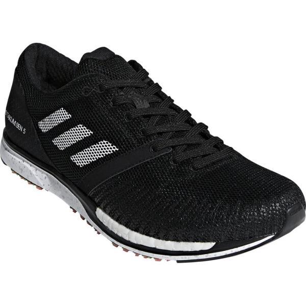 ランニングシューズ メンズ スニーカー メンズ 靴 メンズ adidas adizero takumi sen 5 コアブラック×ランニングホワイト×カーボンS18 コアBLK/RUNWHT【ADS】