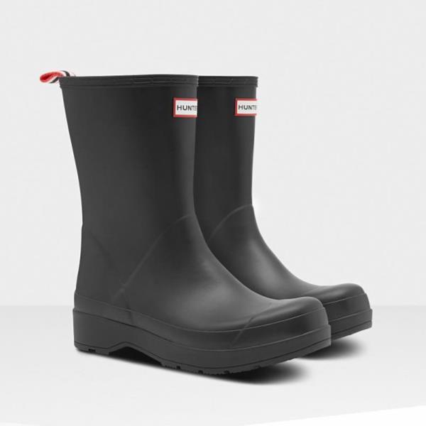 長靴 ブーツ レインブーツ レインシューズ ショートブーツ 防水 ハンター メンズ MFS9087RMA-BLK MENS ORIGINAL PLAY BOOT SHORT BLACK ( HUN10721588 ) 【 ハンター 】【QCA04】