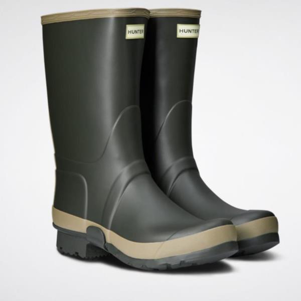 長靴 ブーツ レインブーツ レインシューズ ガーデニング ハンター メンズ MFT9074RMA-DOC M FLD TALL BT RMA GARDENER DARK OLIVE/CLAY ( HUN10721605 ) 【 ハンター 】【QCA04】
