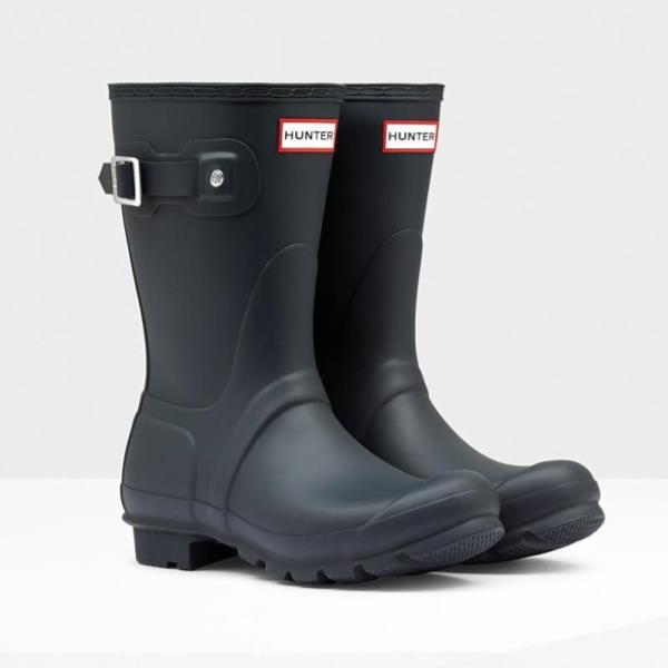 長靴 ブーツ レインブーツ レインシューズ ショートブーツ 防水 ハンター レディース WFS1000RMA-NVY WOMEN ORIGINAL SHORT NAVY ( HUN10721706 ) 【 ハンター 】【QCA04】