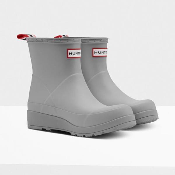 長靴 ブーツ レインブーツ レインシューズ ショートブーツ 防水 雨具 ハンター レディース WFS2020RMA-ZNC-4 ORIGINAL PLAY BOOT SHORT ZINC 4 ( HUN10721921 ) 【 ハンター 】【QCA04】