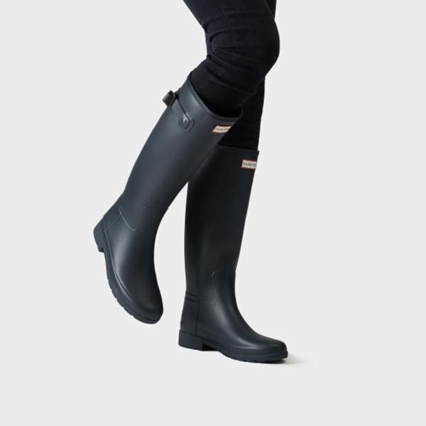 長靴 ブーツ レインブーツ レインシューズ ロングブーツ 防水 雨具 ハンター レディース WFT1071RMA-NVY-7 ORIGINAL REFINED NAVY 7 ( HUN10721922 ) 【 ハンター 】【QCA04】