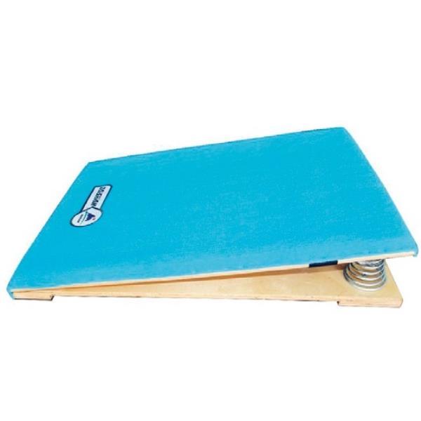 跳箱 板 踏切板 体育用品 大注目 スプリング式ロイター板 キッズ 特殊送料 QCB27 卸売り ランク:お見積り S-4047 SWT