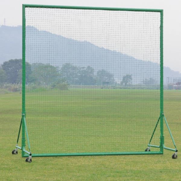 ネット 野球 体育用品 アルミ防球ネット 2×2 移動式 S-4738 特殊送料【ランク:お見積り】 【SWT】 【QCA25】