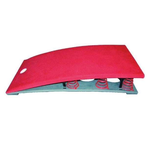 跳箱 板 踏切板 体育用品 S-4045 スプリング式ロイター板 ハード送料【お見積】【SWT】【QBJ38】
