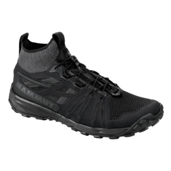 スニーカー メンズ トレッキングシューズ メンズ 登山靴 メンズ SAENTIS KNIT LOW MEN BLACK-PHANTOM【MAT】【QCA04】