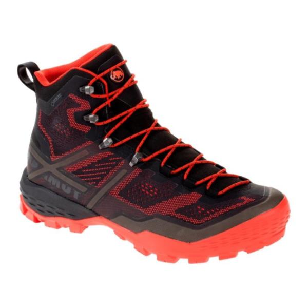 トレッキングシューズ メンズ 登山靴 メンズ 登山ブーツ メンズ DUCAN HIGH GTX MEN BLACK-DARK ZION【MAT】【QCA04】