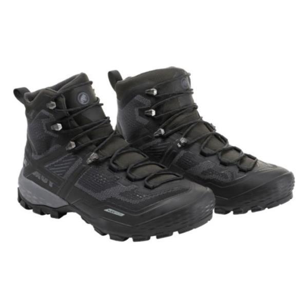 トレッキングシューズ メンズ 登山靴 メンズ 登山ブーツ メンズ DUCAN HIGH GTX MEN BLACK-BLACK【MAT】【QCA04】