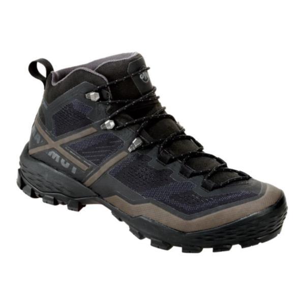 トレッキングシューズ メンズ 登山靴 メンズ 登山ブーツ メンズ DUCAN MID GTX MEN BLACK-DARKTITANIUM【MAT】【QCA04】