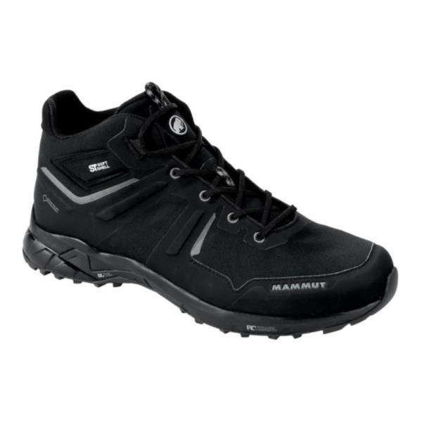 トレッキングシューズ メンズ 登山靴 メンズ 登山ブーツ メンズ ULTIMATE PRO MID GTX MEN BLACK-BLACK【MAT】【QCA04】