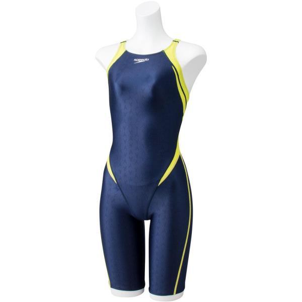 水着 女子 競泳用水着 女子 水着 FINA承認 フレックスシグマ2ジュニア オープンバックニースキン BN*WL【JSS】【QCA41】
