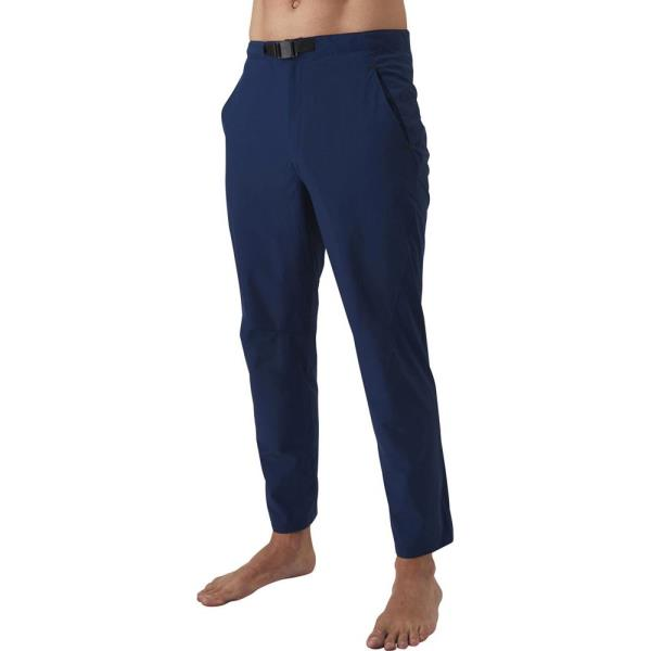パンツ メンズ ジャージ メンズ 長ズボン メンズ ウーブンパンツ ネイビー【ARN】【QCA04】
