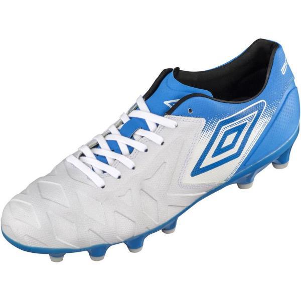サッカーシューズ サッカー スパイク スパイク メンズ ACR シーティー プロ HG Sホワイト×Iブルー×Iブルー【UMB】【QCA04】