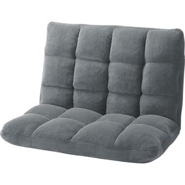 東谷 座椅子 ソファ FKC-005GY もこもこワイドリクライナー【AZM】【QCA04】