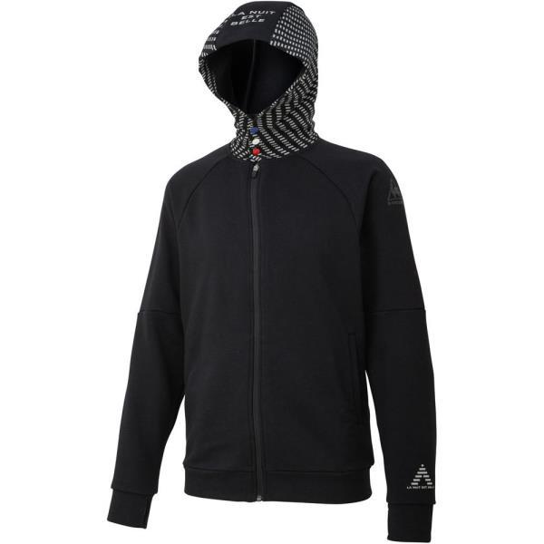 ジャケット メンズ パーカー メンズ ジャージ メンズ Steel Hooded Sweat/Steelフーデッドスウェット ブラック【LCQ】【QCA04】