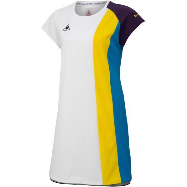 ワンピース シャツワンピ Tシャツ レディース ワンピース ホワイト【LCQ】【QCA04】