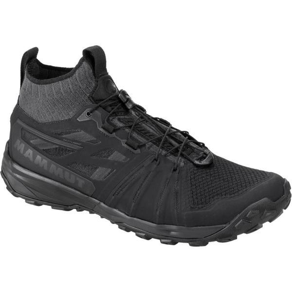 トレッキングシューズ メンズ 登山靴 メンズ 303003390 Saentis Knit Low Men BLACK-PHANTO【MAT】【QCA04】