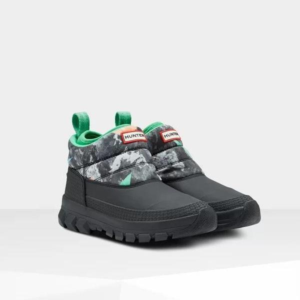 長靴 ブーツ スノーブーツ レインブーツ シューズ 防水 雨具 ハンター レディース WFS2049WWU W ORG INSULATED SNOW ANKLE BT STORM CAMO ( HUN10789959 ) 【 ハンター 】【QCA04】