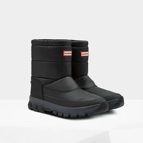 長靴 メンズ スノーブーツ メンズ レインブーツ メンズ MFS9112WWU-BLK-7 M ORG INSULATED SNOW BT SHORT BLACK 26cm 【HUN】【QCA04】