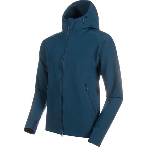 ジャケット メンズ パーカー メンズ ウィンドウェア メンズ Macun SO Hooded Jacket AF Men WING TEAL 【MAT】【QCA04】