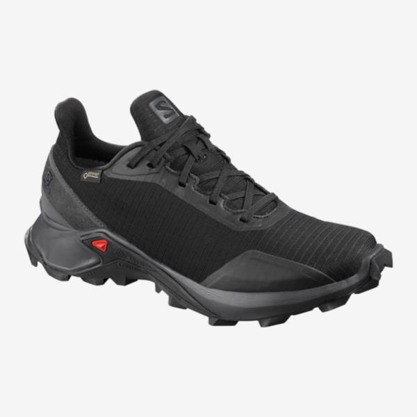 スニーカー レディース ランニングシューズ 靴 レディース ALPHACROSS GORE-TEX W BLACK/EBONY/BLACK 【SAM】【QCA04】