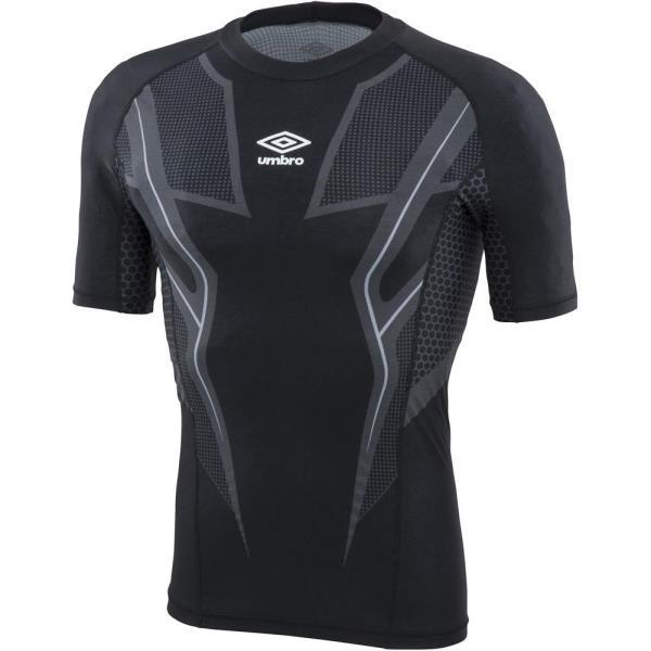 アンダーシャツ メンズ Tシャツ メンズ トップス メンズ TR ハーフスリーブインナーシャツ byG ブラック 【UMB】【QCA04】