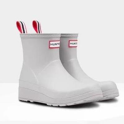 長靴 レディース レインブーツ レディース レインシューズ レディース ORIGINAL PLAY BOOT SHORT ZINC 【HUN】