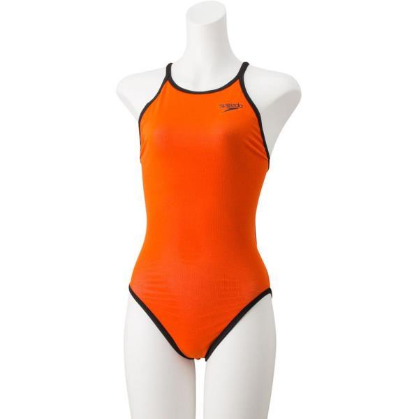 水着 レディース 競泳水着 レディース スクール水着 レディース リバーシブルターンズスーツ Sオレンジ 【JSS】【QCA25】