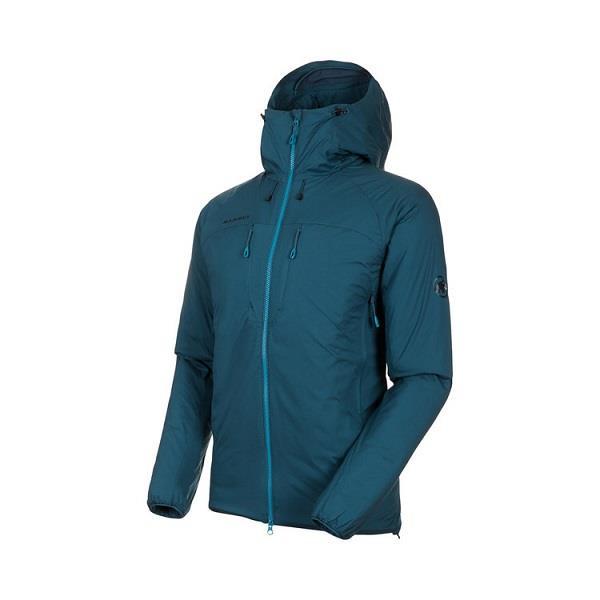 マムート ジャケット メンズ パーカー メンズ ジャケット メンズ パーカー メンズ ウィンドウェア メンズ Rime IN Flex Hooded Jacket AF Men WING TEAL 【MAT】