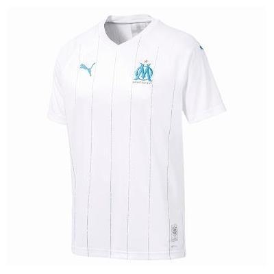 サッカーTシャツ サッカーウェア メンズ シャツ OM マルセイユ SS ホーム レプリカシャツ PUMA WHT 【JSP】