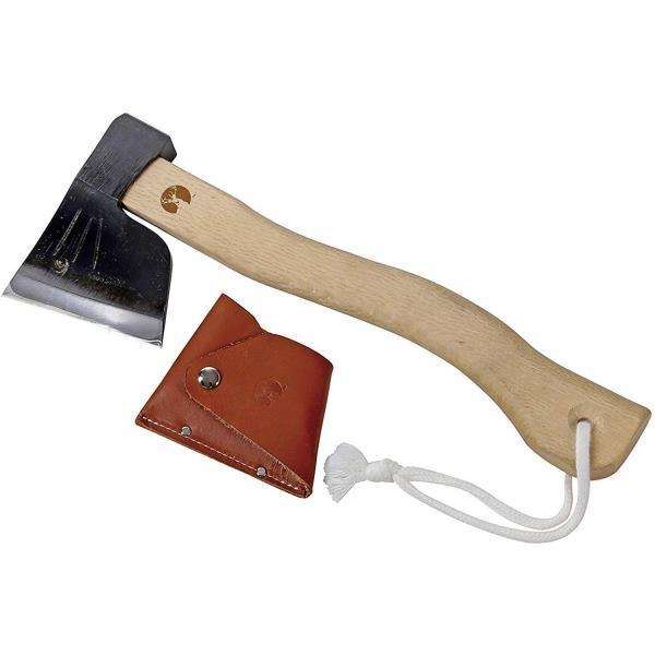 斧 薪割り 手斧 斧 鋼 UM-0010 全鋼馬斧 360 レザーカバー付 【CAG】